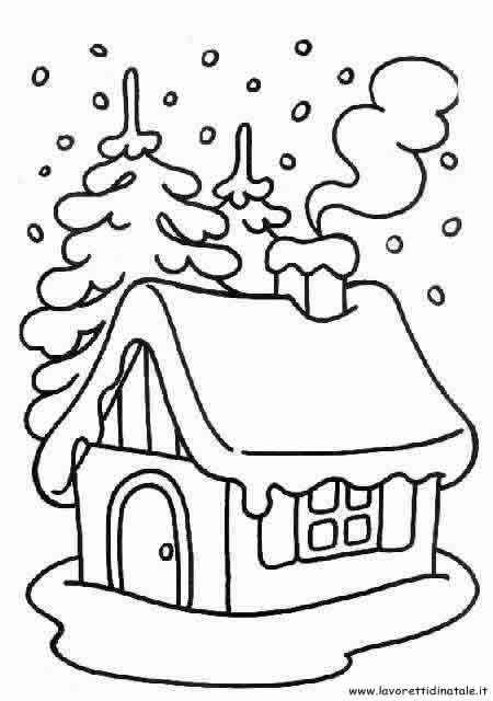 Divertenti E Simpatici Disegni Di Natale Da Colorare